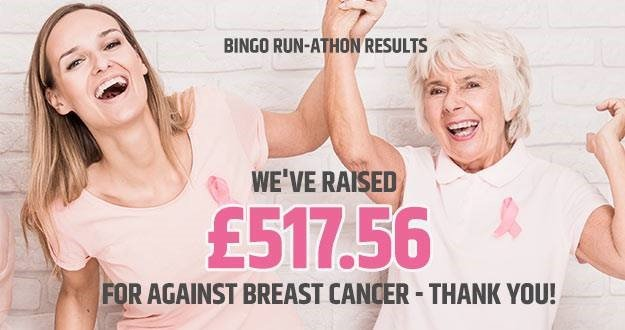 Pink Ribbon Bingo Supporting Against Breast Cancer
