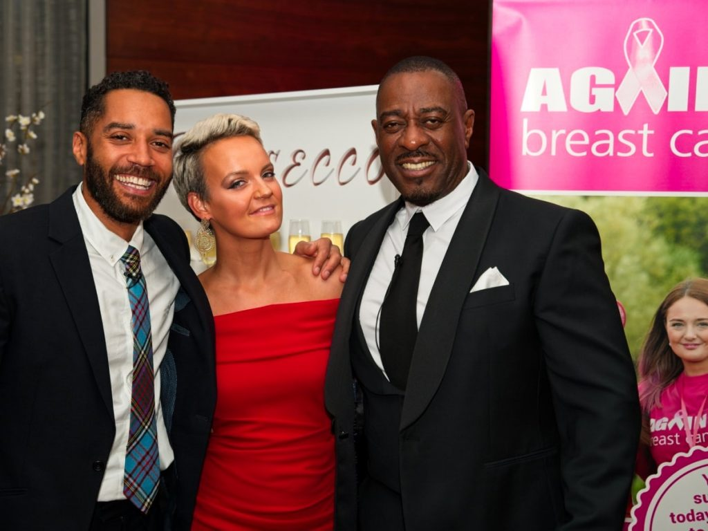 Our Night at the Achievement Awards with Against Breast Cancer